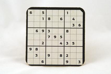 Sudoku Bierdeckel