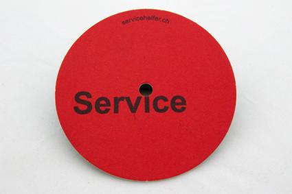 Service Bierdeckel