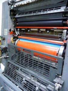 Offset Druck Maschine 225x300 Bierdeckeldruck